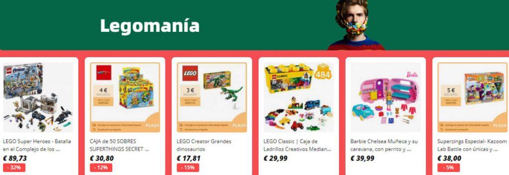 descuentos en LEGO D-Marcas