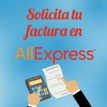 solicitar factura en AliExpress