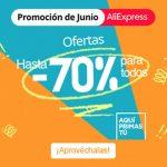 Aprovéchate de las grandes ofertas de AliExpress