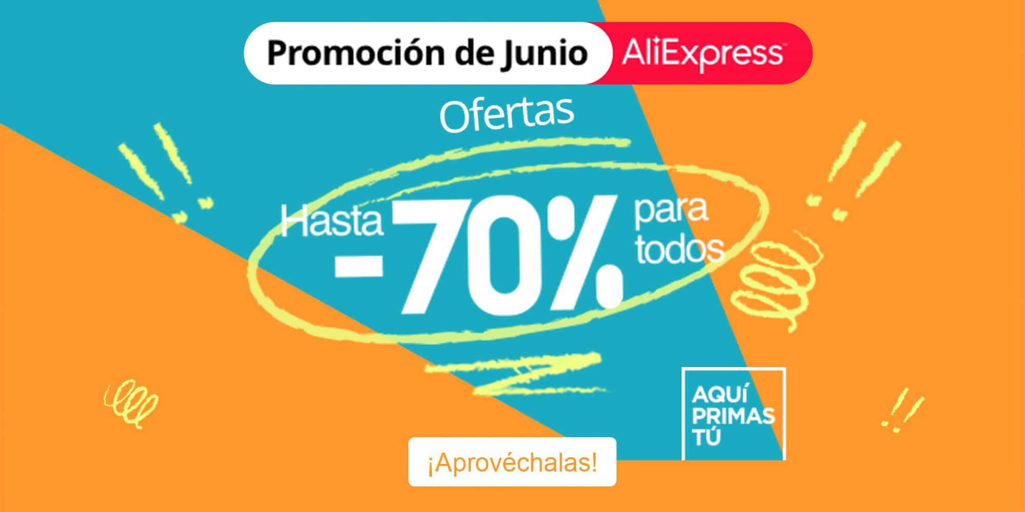 los mejores descuentos en la nueva promoción de AliExpress