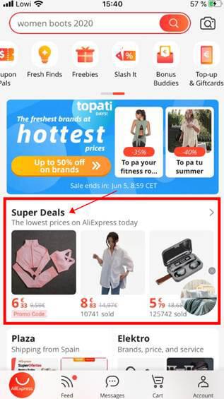 super deals aliexpress