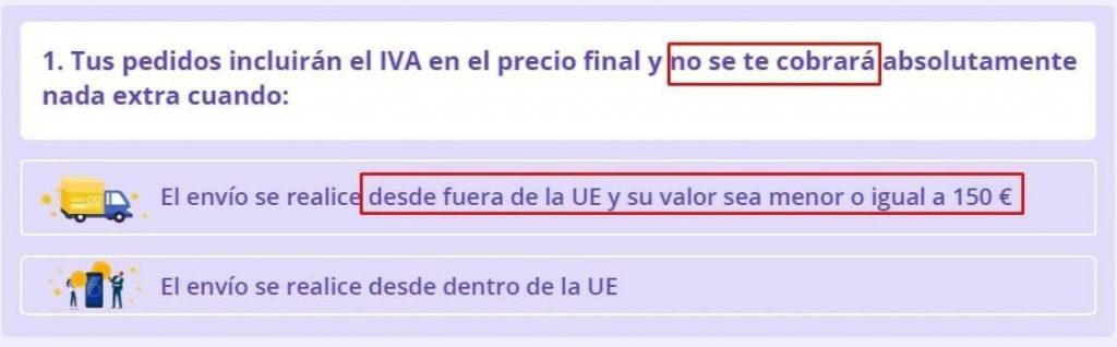 """¿Cómo han cambiado las compras en AliExpress""""Paquete IVA de comercio electrónico"""""""