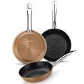 Pack de 3 sartenes Monix Copper AliExpress