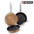 Pack de 3 sartenes Monix Copper