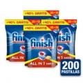 Pack 200 pastillas Finish Powerball
